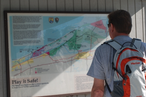 Checking out route options
