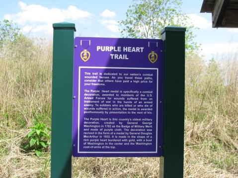 Purple Heart Trail Designation