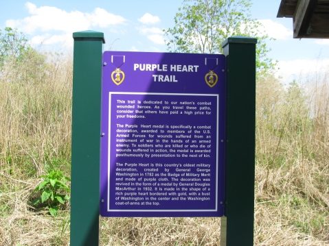 Purple Heart Trail Designation